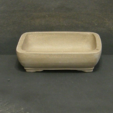 Unglazed Rectangular Professional Grade Pot