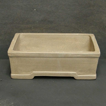 Unglazed Rectangular Pot - Pro. Quality