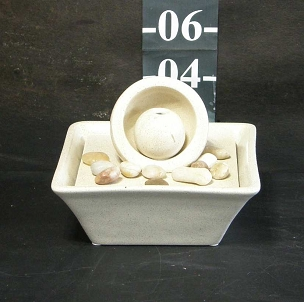 Table-Top Fountain - Small - Beige