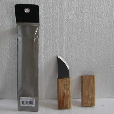 Wood Handled Graving Knife & Cover